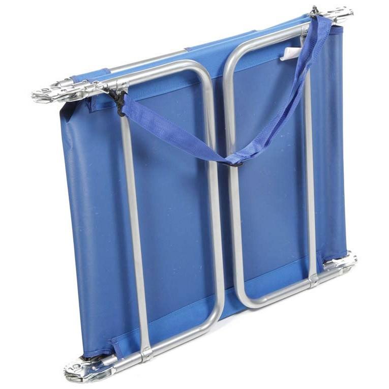 Ostrich MP102 Folding Beach Chaise Lounge Ocean Blue
