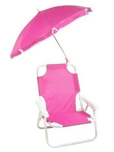 Redmon 9000 baby beach chair with umbrella for Suntracker beach chair