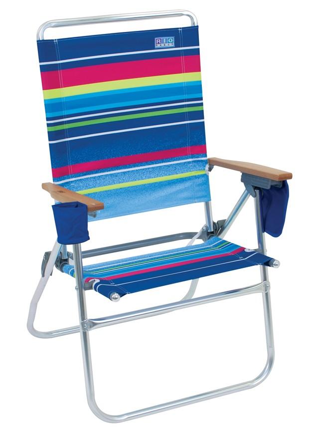 Rio SC642C Hi Boy Beach Chair