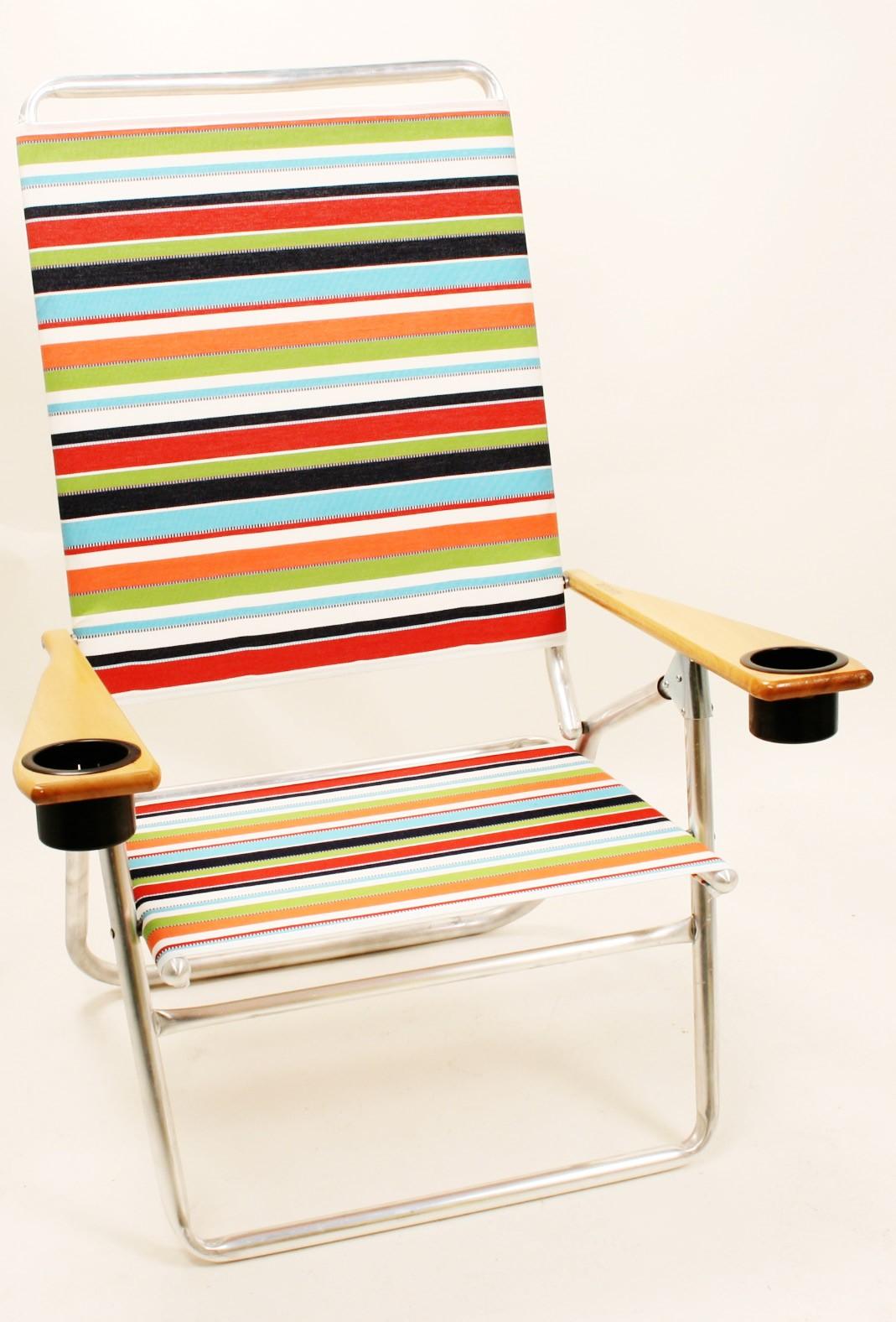 Telescope 511 High Boy w Cup holders Aluminum Frame Beach Chairs