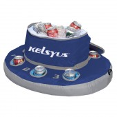 Kelsyus 80010 Floating Cooler Blue