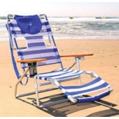 Ostrich 3N1 5 Position Lounger Beach Chair