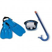 Intex 55952 Master Class Swim Set Mask, Snorkel and Fins