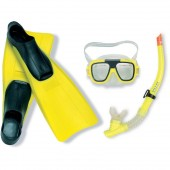 Intex 55957 Aviator Sports Set Mask, Snorkel and Fins