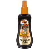 Australian Gold AG524 SPF 15 Sunscreen Spray Gel w/ Bronzer 8-oz.