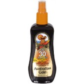 Australian Gold AG536 SPF 30 Sunscreen Spray Gel w/ Bronzer 8-oz.