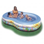 Intex 56490E Swim Center Paradise Lagoon Pool
