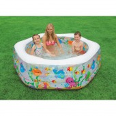 Intex 56493E Swim Center Ocean Reef Pool