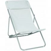 Lafuma Transatube XL Patio Outdoor Chair with Headrest