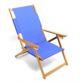 Rio SC1015 Wood Frame Adjustable Beach Chair