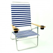 Telescope 511 High Boy Beach Chairs with Cup Holders