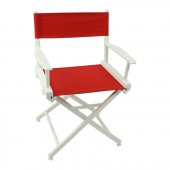 Telescope World Famous Director Chair White Frame with Cover 