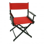 Telescope World Famous Director Chair Black Frame with Cover