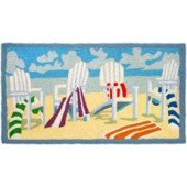 Home Comfort Jellybean Rug Adirondack Chair - Embroidery JB-PB-0003