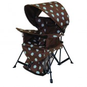 Kelsyus 80381 Kids Go With Me Chair with Bonnet - Blue Dots