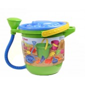 Mag-Nif 8200-4 Sand and Water 12 Piece Play Set - Blue Lid