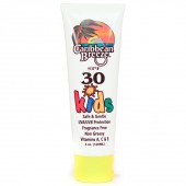 Caribbean Breeze 30045 SPF 30 Kids Sunscreen Lotion 4 oz.