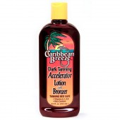 Caribbean Breeze 50008 Dark Tanning Accelerator Lotion with Bronzer