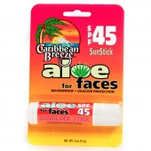 Caribbean Breeze 60206 Aloe for Faces SPF 45 Stick