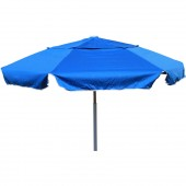 Resort Umbrella 7-Feet Beach or Patio Umbrella with Wooden Pole