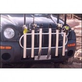 Fish-N-Mate 51 Bumper Mount Rod Rack 6 Rod Holder