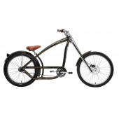 Nirve Switchblade Chopper 3 Speed Men's Beach Cruiser Bikes 3472 Dark Jade