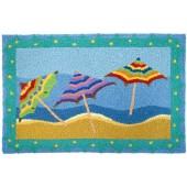 Home Comfort Jellybean Rug Beach Umbrellas JB-CE010