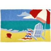 Home Comfort Jellybean Rug Beach Chair - Embroidery JBE-HC004