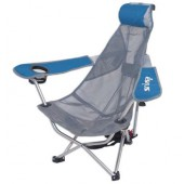 Kelsyus 80403 Backpack Beach/Camp Outdoor Chair Blue/Grey Mesh