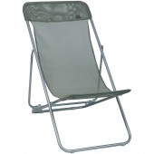 Lafuma Transatube Patio Outdoor Beach Chair LFM1143 Batyline Mesh