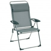 Lafuma Cham Elips XL Patio Outdoor Beach Chair LFM1971 Batyline Carbon