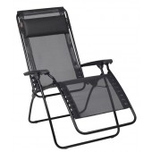 Lafuma 4007-5529 R Clip Zero Gravity Chair Black Frame - Noir (Black)
