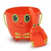 Melissa &amp; Doug Clicker Crab Pail and Shovel