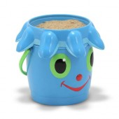 Melissa & Doug Flex Octopus Pail and Sifter