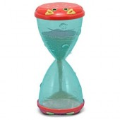 Melissa &amp; Doug Clicker Crab Hourglass Sifter &amp; Funnel