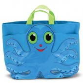 Melissa & Doug 6420 Flex Octopus Beach Tote Bag