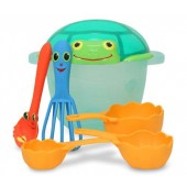 Melissa &amp; Doug 6432 Seaside Sidekicks Sand Baking Set