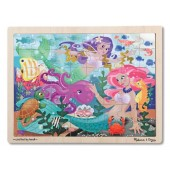 Melissa and Doug 2911 Mermaid Fantasea Wooden Jigsaw