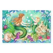 Melissa and Doug 4436 Mermaid Playground Floor Puzzle