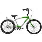 Nirve Inferno 3 Speed Men's Beach Cruiser Bikes 3477 Green Flame