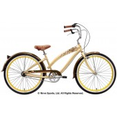 Nirve Lahaina 3 Speed Ladies Beach Cruiser Bikes 1496 Cocoabutter