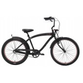 Nirve Pyro 3 Speed Men's Beach Cruiser 3454 Matte Black