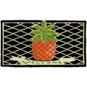 Home Comfort Jellybean Rug Pineapple Welcome JB-VW002