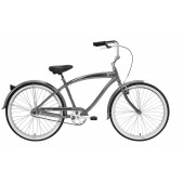 Nirve Classic 1 Speed Beach Cruiser Bike 3510 Platinum