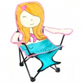 Pacific Play Tents 53000 Molly the Mermaid Super FunFolding Chair
