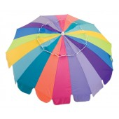 Rio UB723 7ft Sun Blocking Beach Umbrella w/ Integrated Sand Anchor