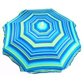 Rio Brands UB588 6-ft Groundblaster Sunblocking Beach Umbrella