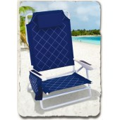 Rio SC785C-63 Quilted King Size Beach Chair
