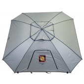 "Rio TSBU7 Rio Extreme Shade ""Total Sun Block"" 7ft. Sq. Umbrella - Silver Reflective"