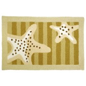 Home Comfort Jellybean Rug Sandy Starfish - Embroidery JB-JU003